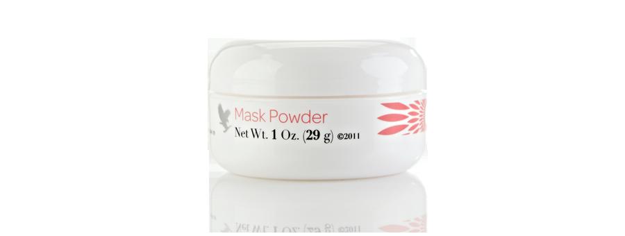 Pielęgnacja skóry tylko z Mask Powder - nośnik pudrowy