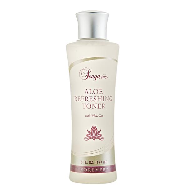 Pielęgnacja skóry tylko z Sonya Aloe Refreshing Toner - tonik z wyciągiem z białej herbaty