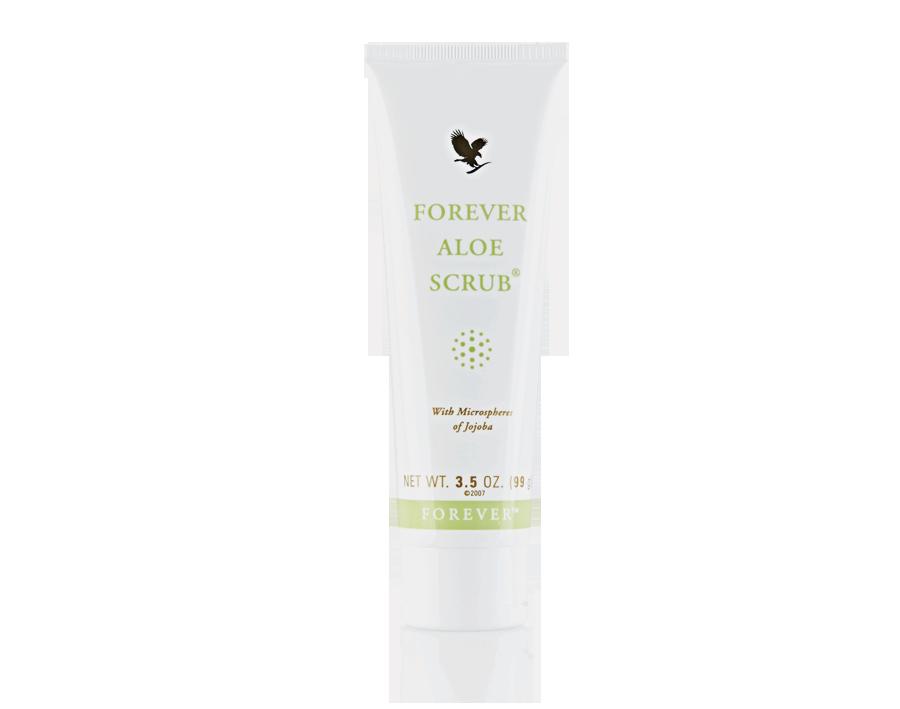 Pielęgnacja skóry tylko z Forever Aloe Scrub - oczyszczanie skóry
