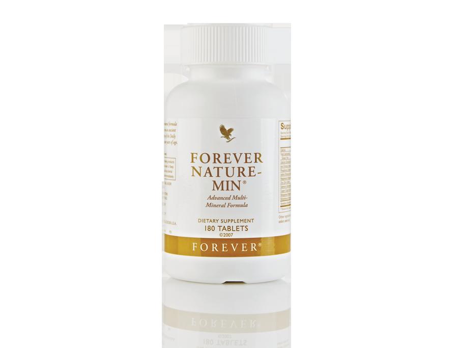 Suplementy diety Forever Nature-Min - tabletki z minerałami pochodzenia naturalnego