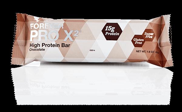 Harmonijna sylwetka tylko z Forever PRO X2 - baton proteinowy (czekoladowy)