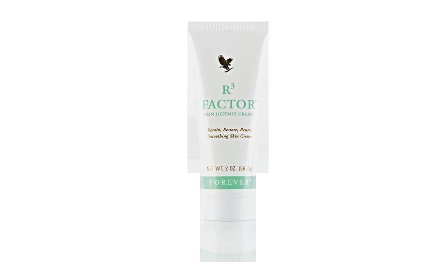 Pielęgnacja skóry tylko z R3 Factor - odżywiająca emulsja
