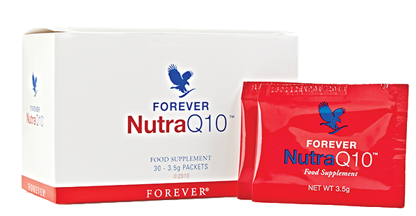 Suplementy diety NUTRAQ 10 - koenzym Q10